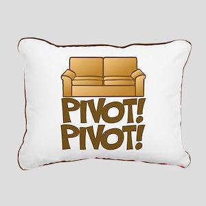 Pivot! Pivot! [Friends] Rectangular Canvas Pillow